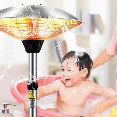 Umbrella type electric heater